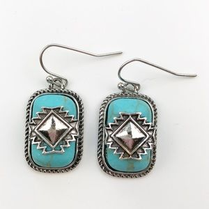 Southwest Drop Earrings